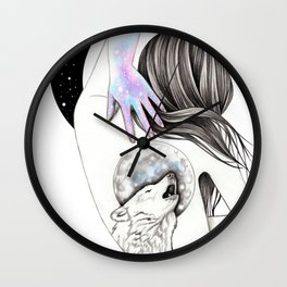 Moon Coven Wall Clock