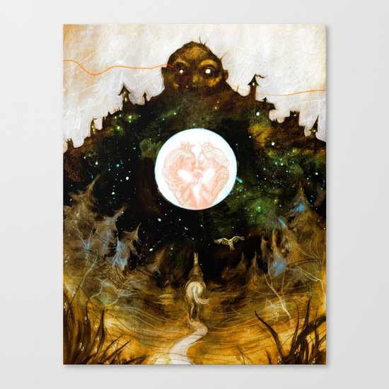 The Heartless Giant Canvas Print