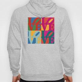 Love Pop Art Hoody