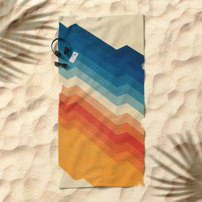 Barricade Beach Towel