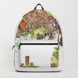 Camden, New Jersey Skyline SG - Faded Glory Backpack