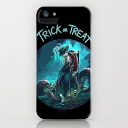 Trick or Treat - Captain's treasure iPhone Case