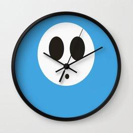 SHY GUY(LIGHT BLUE) Wall Clock
