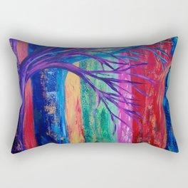 Rainbow Woods Rectangular Pillow