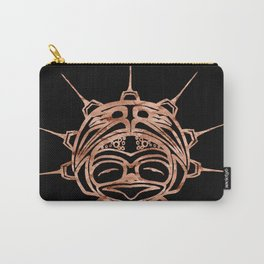 Copper Frog Ink Carry-All Pouch