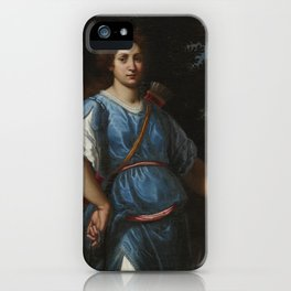 Matteo Rosselli FLORENCE 1578 - 1650 DIANA THE HUNTRESS iPhone Case