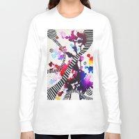 splash Long Sleeve T-shirts featuring Splash by DuckyB