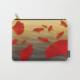 Red Ginko Carry-All Pouch
