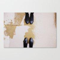 feet Canvas Prints featuring Feet. by Molly Nurse