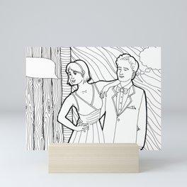 Color Me: Party Moments Eleven Mini Art Print
