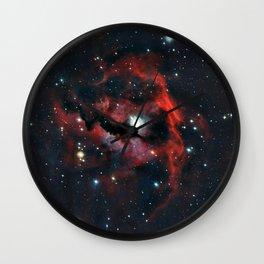 Seagull Nebula Wall Clock