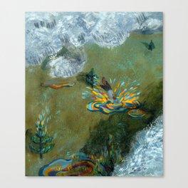 Joy of Rain ii Canvas Print