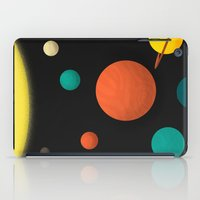 solar system iPad Cases featuring Solar system by Sarajea