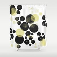 popart Shower Curtains featuring Popart No.2 by soupdesign
