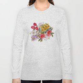 Farmers Market Bouquet 1 Long Sleeve T-shirt