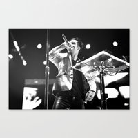 panic at the disco Canvas Prints featuring Panic! At The Disco by Adam Pulicicchio Photography