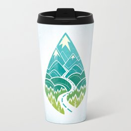 The Road Goes Ever On: Summer Travel Mug