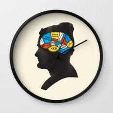 Stevesy Phrenology Wall Clock