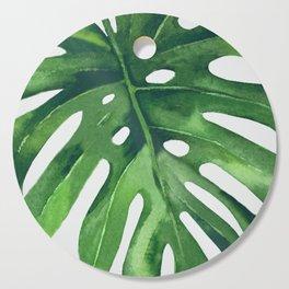 Monstera Leaf Cutting Board