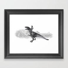 History Revised Framed Art Print