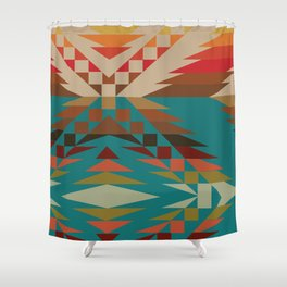 American Native Pattern No. 24 Shower Curtain