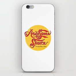 Awesome Sauce (gold) iPhone Skin
