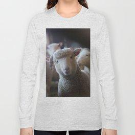 Sheep Looking at Camera Long Sleeve T-shirt