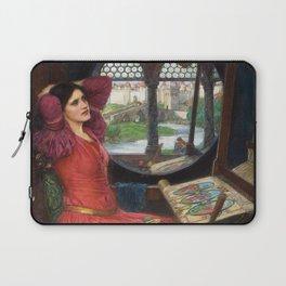 "John William Waterhouse - ""I am half sick of shadows"" said the Lady of Shalott Laptop Sleeve"