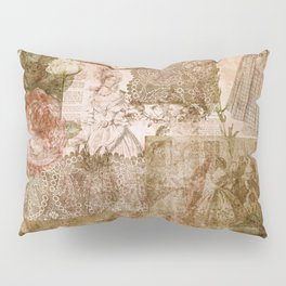 Vintage & Shabby Chic - Victorian ladies pattern Pillow Sham