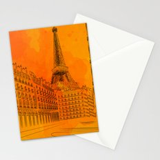 Parisian Sunsets Stationery Cards