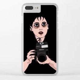 Lydia Fan Art Clear iPhone Case