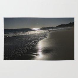 Mailbu Beach Sunset Rug