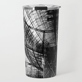Airship under construction Travel Mug