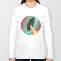 thrones Long Sleeve T-shirts featuring Black holes and revelations by Laura Nadeszhda