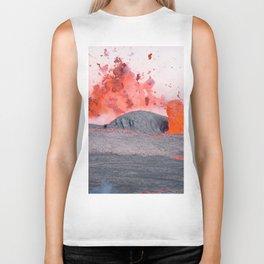 volcano #society6 #decor #buyart Biker Tank
