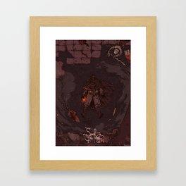 DARK SOULS II / SEEK THE KING \ Framed Art Print
