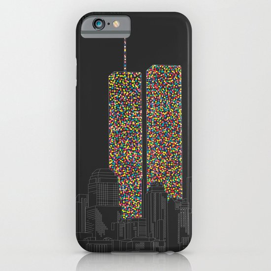 2606 Souls compose The Twin Towers iPhone & iPod Case