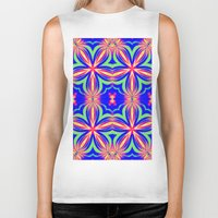 psychedelic art Biker Tanks featuring Psychedelic  by 2sweet4words Designs