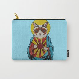 Holy Cat Carry-All Pouch