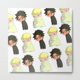 Akira & Ryo Metal Print