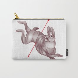 By a Hare Carry-All Pouch