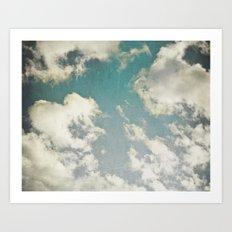 Clouds 026 Art Print