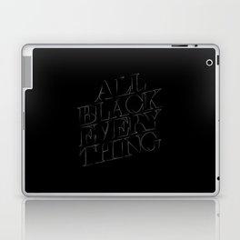 All Black Everything Laptop & iPad Skin