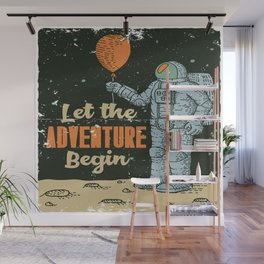 Let the Adventure begin Wall Mural