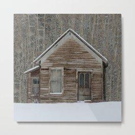 Miners Cabin, Colorado Metal Print