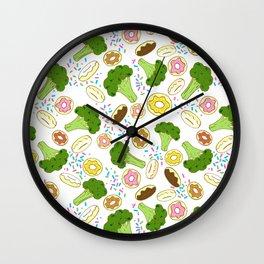A Balanced Diet  Wall Clock