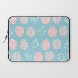 Pastel Brains Pattern Laptop Sleeve