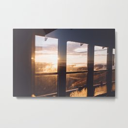 Rainier Sunrise Metal Print