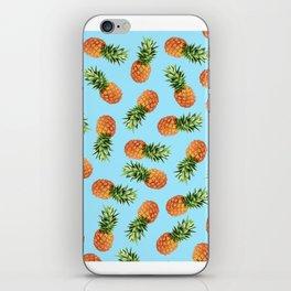Pineapple Pattern - Tropical Pattern - Summer Patte iPhone Skin