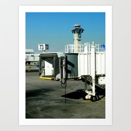 Jetway Art Print
